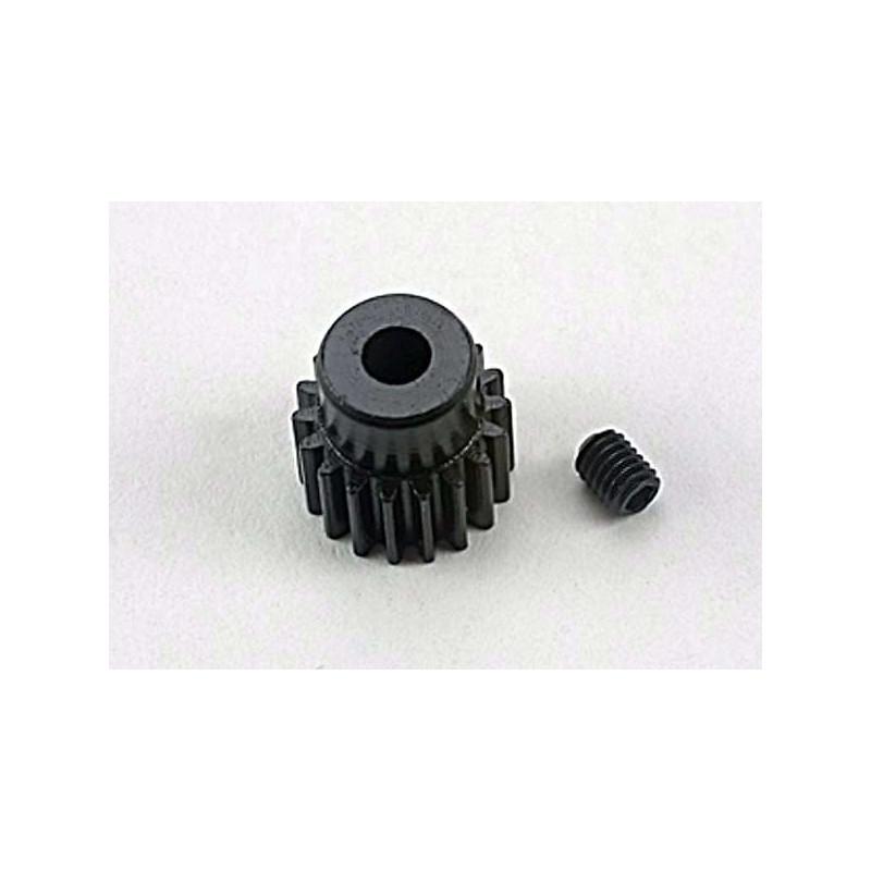 Gear 18-T pinion (48-pitch) / set screw( Bandit Stampede Slash1/16)