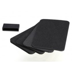 Spacers (4)/ grip pads (3)/connector dust cover (1) (for TQi