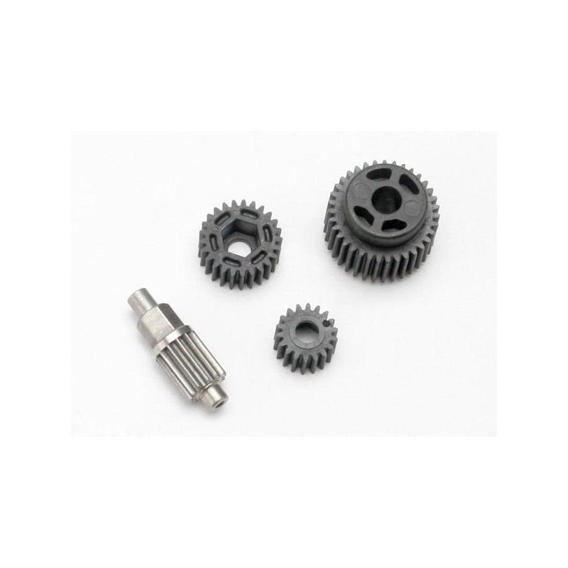 Gear set transmission (includes 18T 25T input gears 13T idler gear (steel) 35T output gear M3x13.75 screw pin)