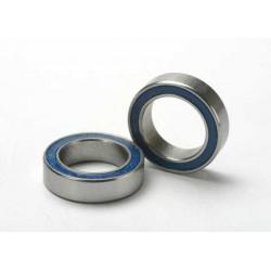 Rodamientos de bolas (10x15x4mm) sellados con caucho azul (2pcs)