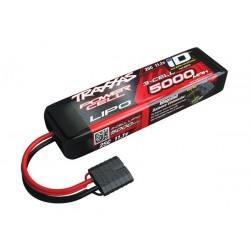 Power Cell LiPo 5000mAh 11.1V 3S 25C ID Summit E-Revo Sl