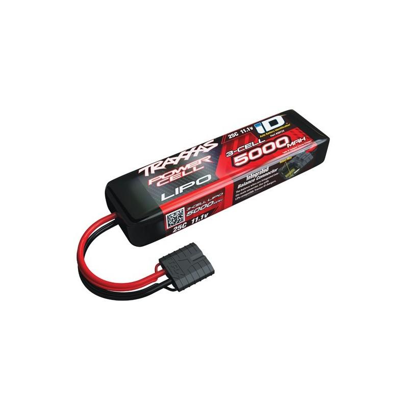 Bateria Traxxas 5000mAh 11.1V 3S 25C Conector ID Summit E-Revo Sl
