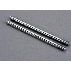 Shock shafts steel chrome finish (xx-long) (2)