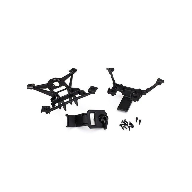 Body mounts front & rear/ 3x15mm BCS (4)/ 3x12mm shoulder s
