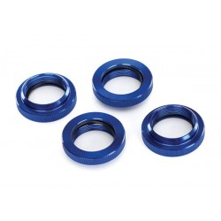 Spring retainer (adjuster) blue anodized aluminum GTX shock