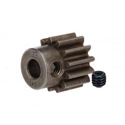 Piñón 13-T Dientes (paso 1.0 métrico) para eje de 5mm. con tornillo de ajuste
