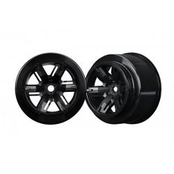 Wheels X-Maxx black (left and right)
