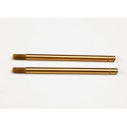 Shock shafts hardened steel titanium nitride coated (xx-lo