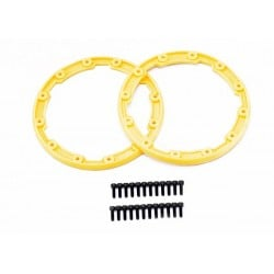 Sidewall protector beadlock style (yellow) (2)/ 2.5x8mm CS