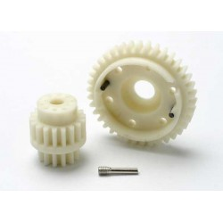 Gear set 2-speed wide ratio (2nd speed gear 38T 13T-18T in