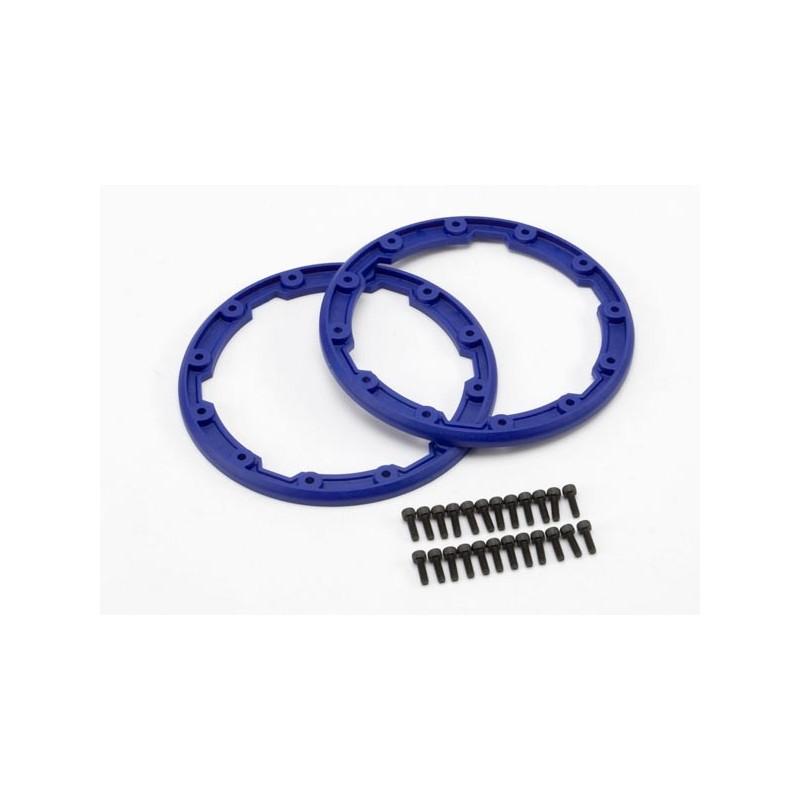 Sidewall protector beadlock-style (blue) (2)/ 2.5x8mm CS (2
