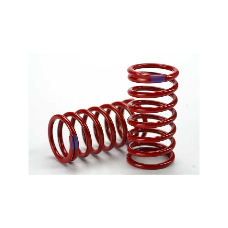 Spring shock (red) (GTR) (6.4 rate purple) (1 pair)