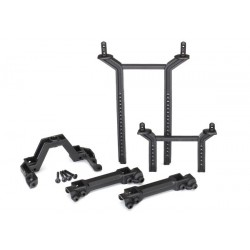 Body mounts & posts front & rear (complete set)