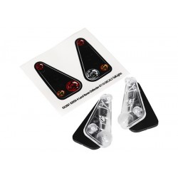 Tail light housing (2)/ lens (2)/ decals (left & right)