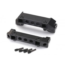 Bumper mounts front & rear/ screw pins (4)