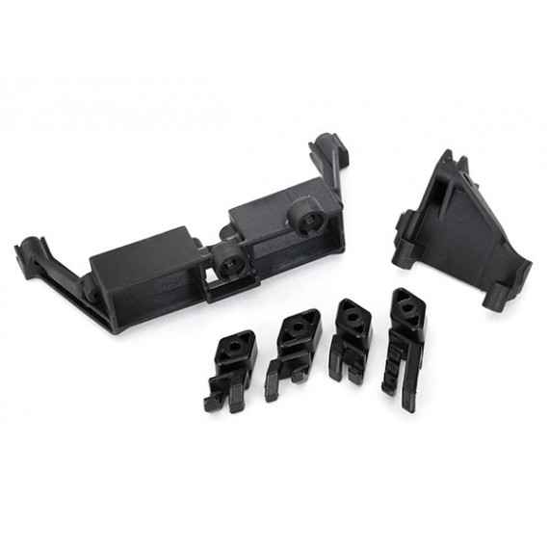 Montaje en servo 2 velocidades / montaje en servo T-Lock / clips de alambre.