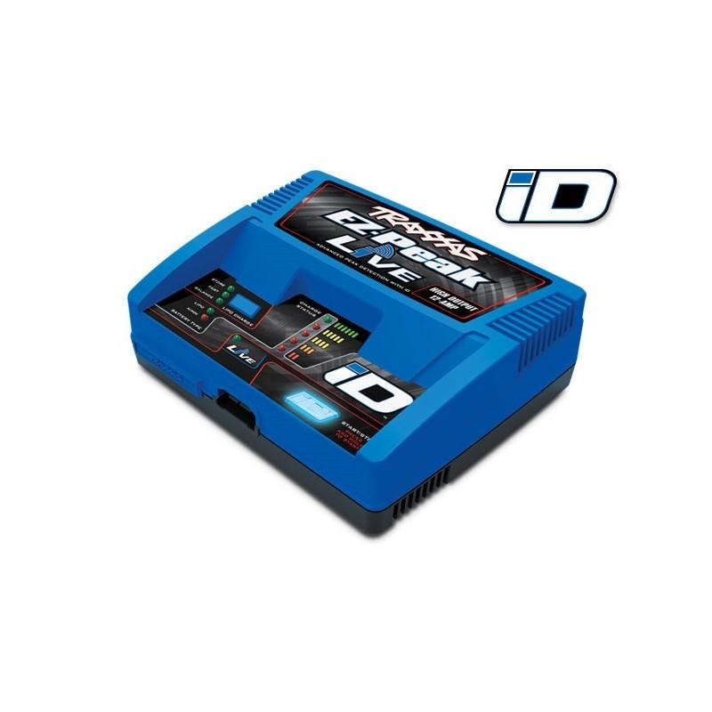 Cargador Traxxas EZ-Peak Live LiPo/NiMH con iD Auto Bat EU