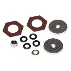 Kit de reconstrucción embrague antirrebote (disco de acero (2) / inserto de fricción