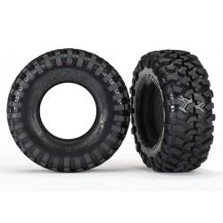 Neumáticos TRX-4 Canyon Trail 1.9/ con foam, sin llanta (2)