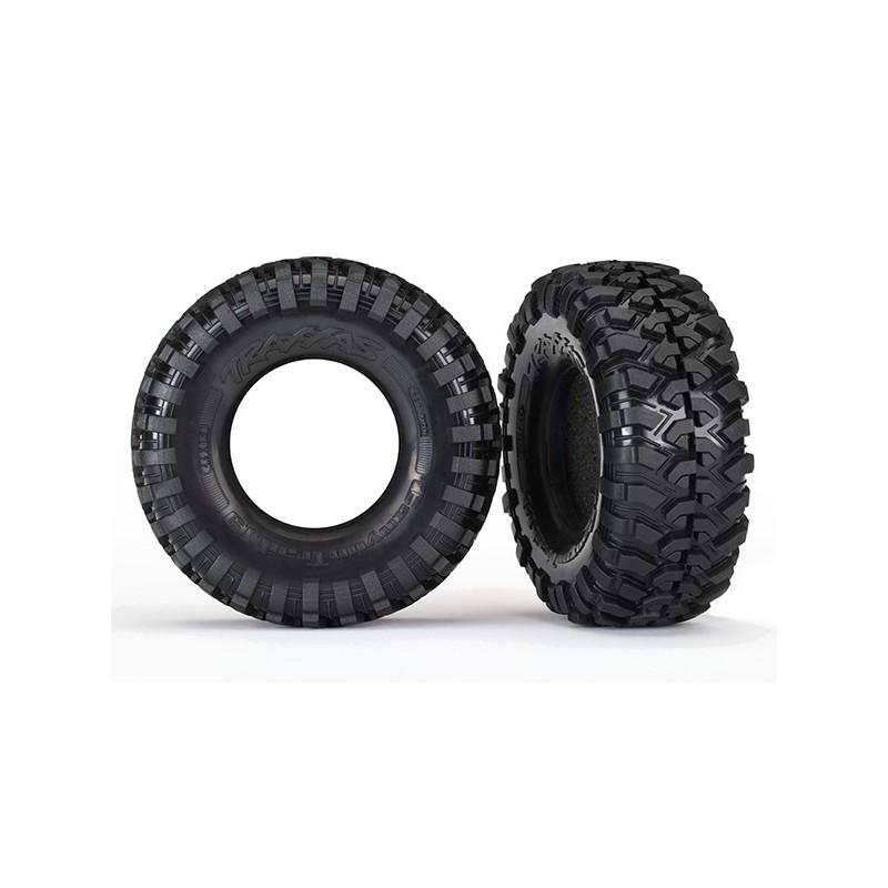 Ruedas TRX4 Tires Canyon Trail 1.9/ con foam, sin llanta (2)