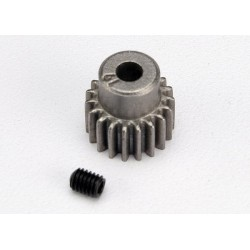 Gear 21-T pinion (48-pitch) / set screw