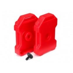 Botes de combustible (rojo) (2) / 3x8 FCS (1) Para TRX4