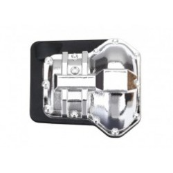 Differential cover, front or rear (chrome-plated)