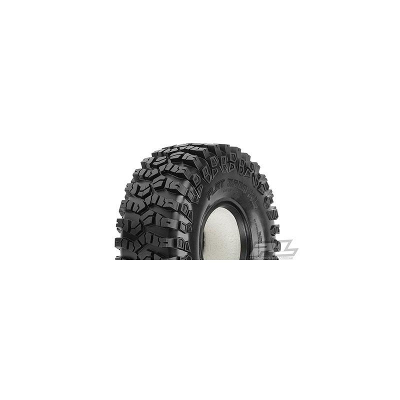 """Neumáticos Flat Iron 1.9"""" XL G8 Rock Terrain para Crawler (2PCS)"""