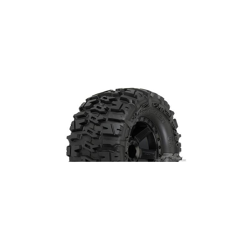 """Trencher 2.8"""" (Traxxas Style Bead) Neumáticos Montados 2pcs"""