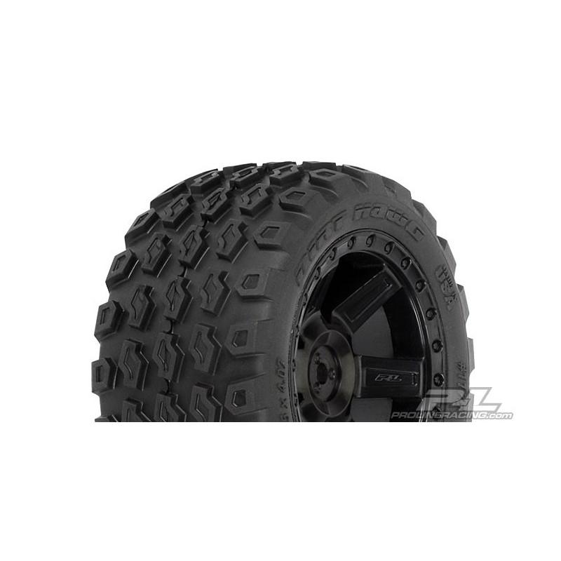 "Dirt Hawg 2.8"" All Terrain Neumáticos Montados (2pcs"