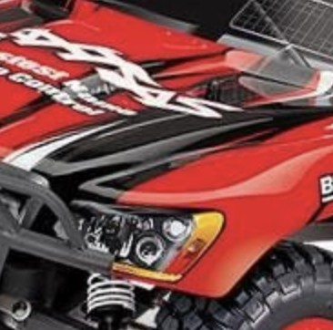 Red slash 2wd